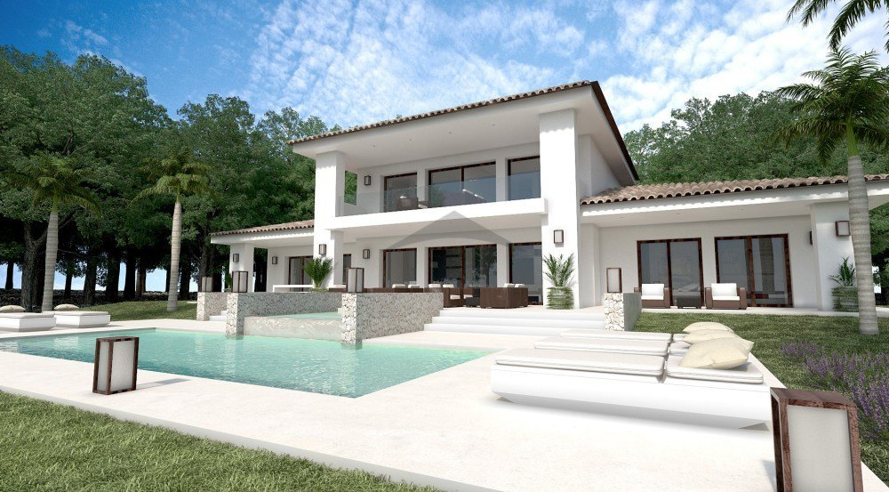 115378-BUILD ONLY: New House for sale in Moraira-01