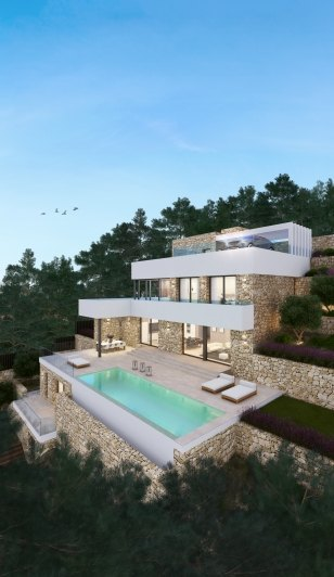 174695-Project with Panoramic Sea views for sale in Moraira-02